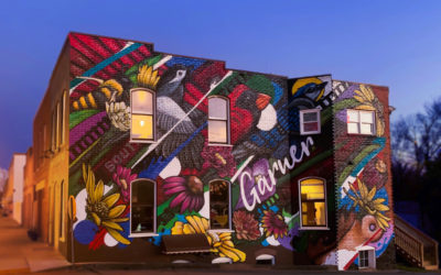 New Mural brings vibrant color to Main Street