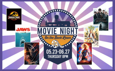 Movies Under the Stars in May & June
