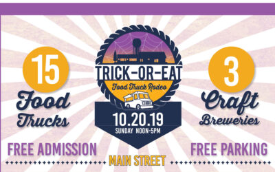 Only Treats Here! Trick or Eat Food Truck Rodeo is Oct. 20