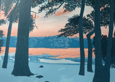 """Lake Benson at Sunset"" by Gabriela Juarez"