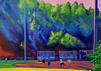 """""""Colors of a Garner Summer"""" by  Shawn Etheridge"""
