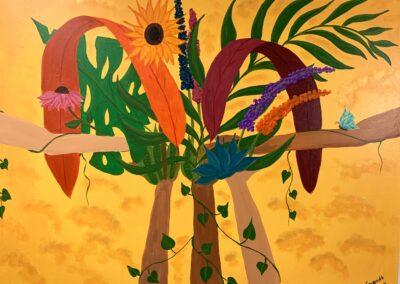 """""""Community Garden"""" by Mayanthi, Serendib Creative"""