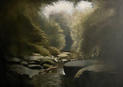 """The Creek at White Deer"" by Sam McLemore"