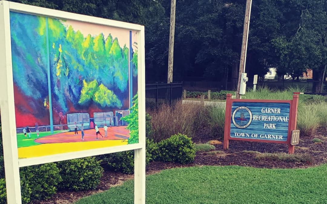 Art Around Town on Display in Downtown Garner